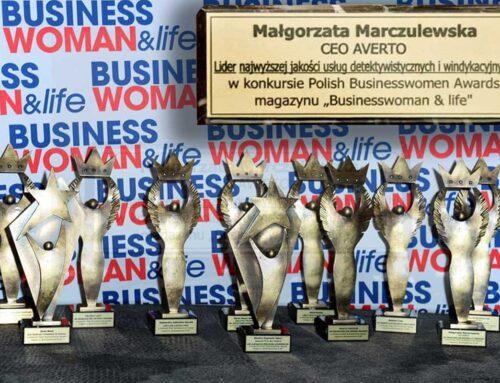 Wyróżnienie dla Prezes Małgorzaty Marczulewskiej